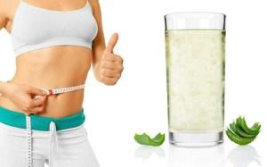 perdere peso con l'aloe