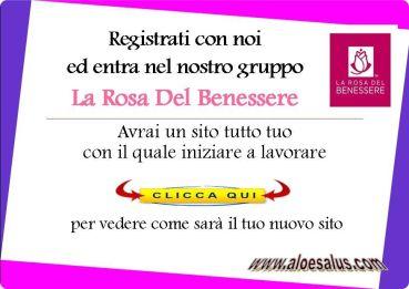 aloesalus e La Rosa del Benessere Lavoro in Forever Living