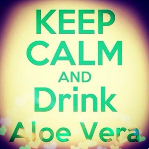 Drink aloe vera