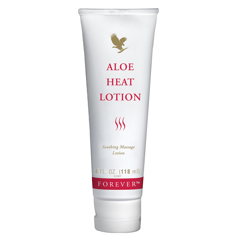 Forever Aloe Heat Lotion