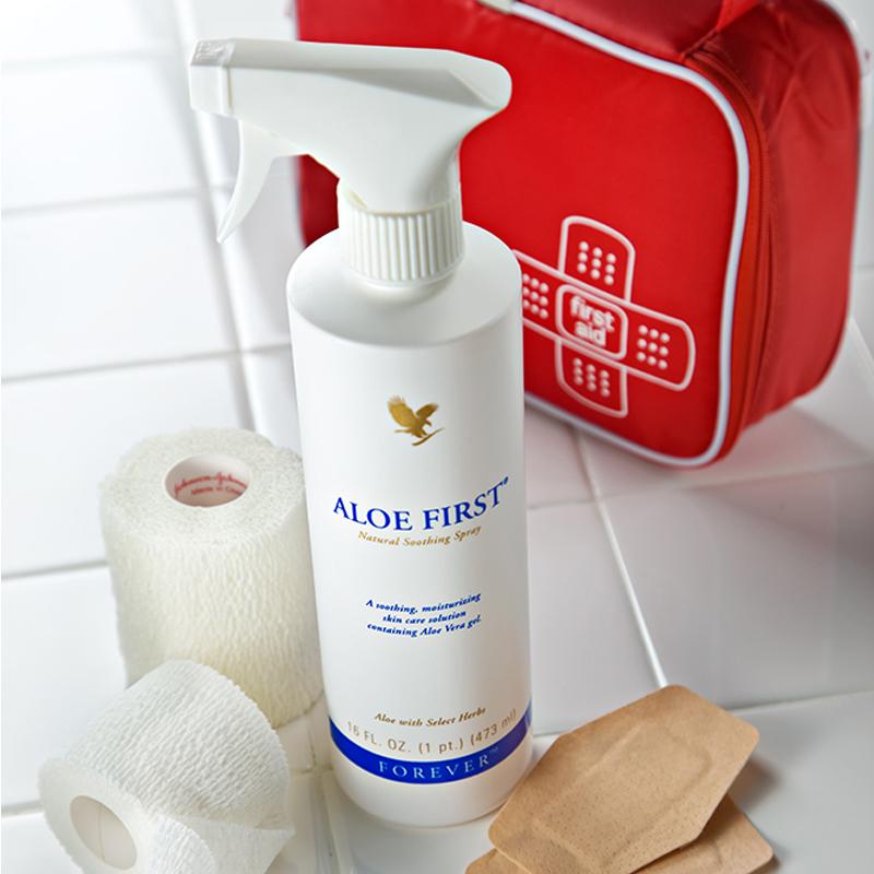 Aloe First brume rafraichissante et hydratante peau Forever