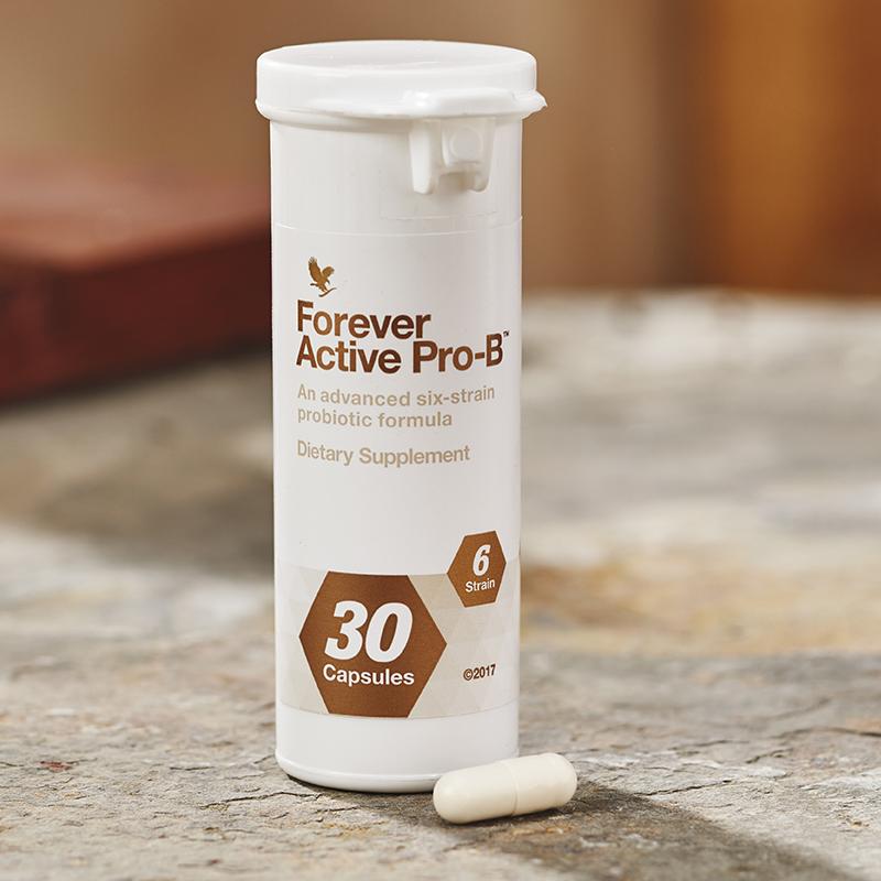 Complément alimentaire naturel Forever Active pro-B flore intestinale