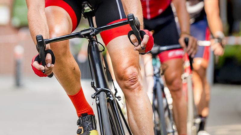 performance sportive du cycliste