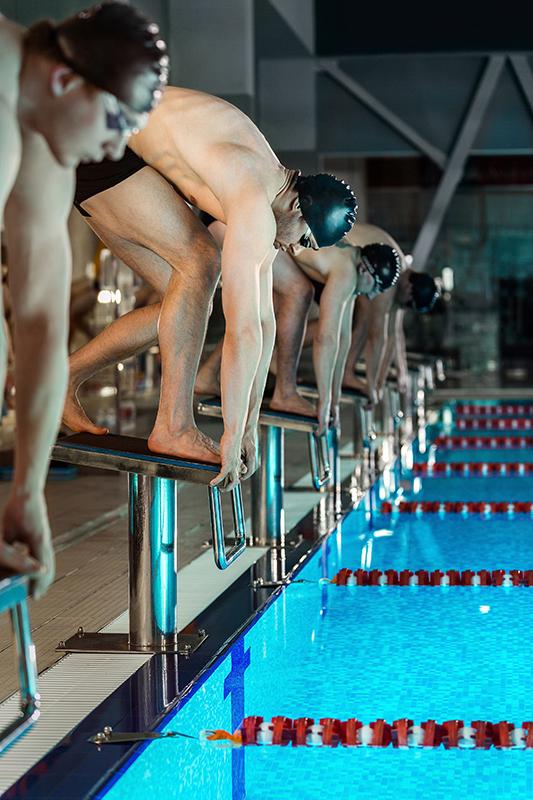 performance sportive du nageur