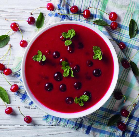soupe de cerise recette régime