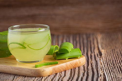 Aloe Vera à boire pour maigrir : pulpe d'aloe vera Forever action détoxifiante