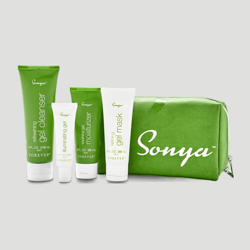 Forever Trousse Daily Skincare peaux mixtes Sonya - Cosmétiques