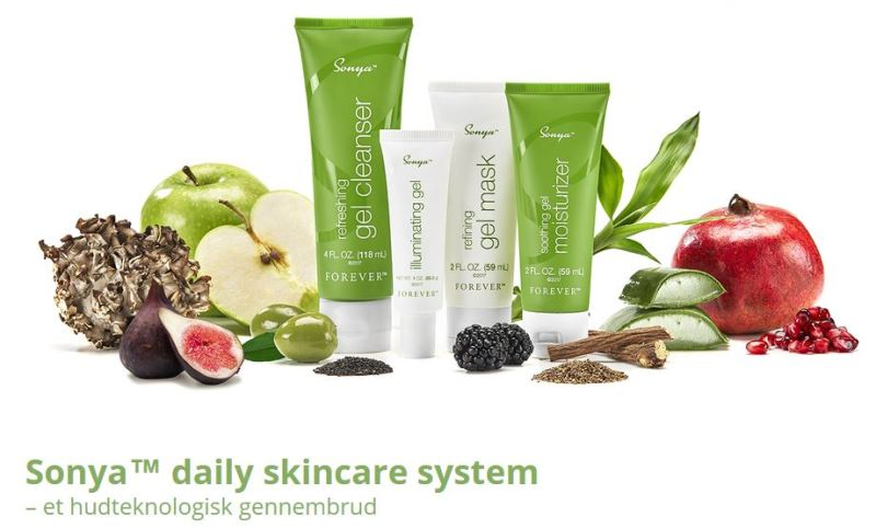 Sonya™ daily skincare system