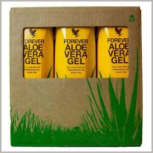 Aloe vera gel tri u paketu 1