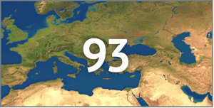 Isporuka u 93 zemlje