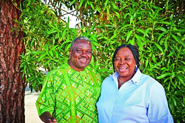 Maria and Clement Idigo - Double Diamond Managers, Nigeria