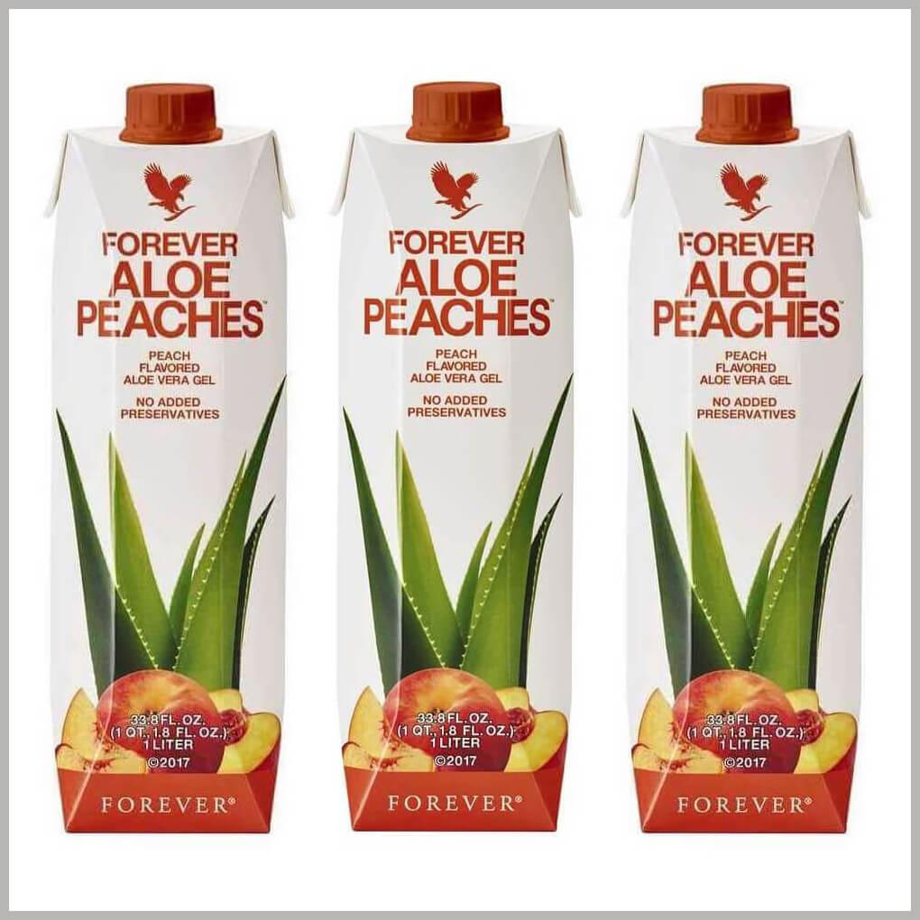 Forever Aloe Peaches tri komada