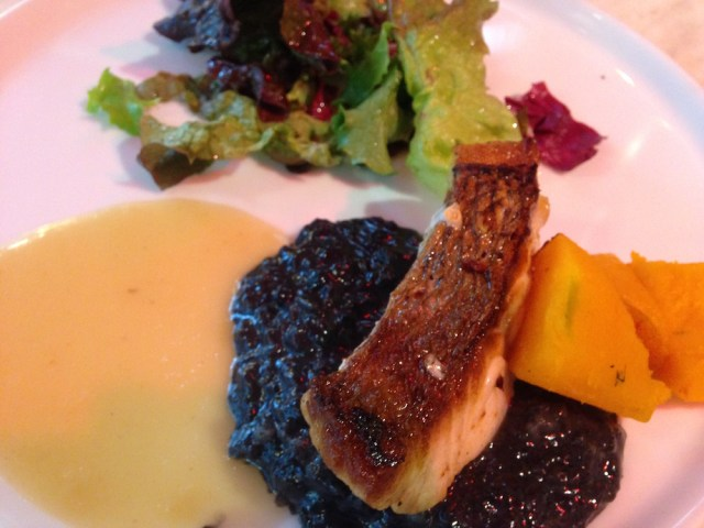 神楽坂のフランス料理店(メゾン・ド・ラ・ブルゴーニュ)魚