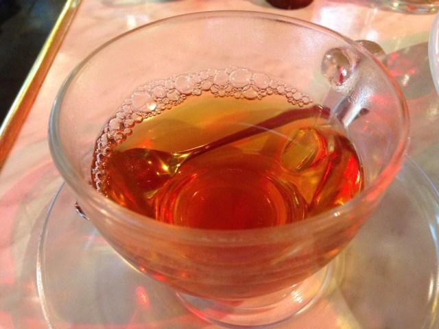 神楽坂ランチ(メゾン・ド・ラ・ブルゴーニュ)紅茶2