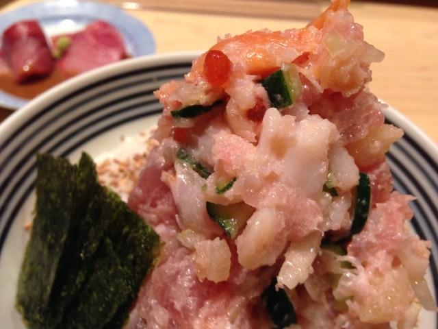 神楽坂ランチ(日本橋海鮮丼 つじ半)海鮮丼2
