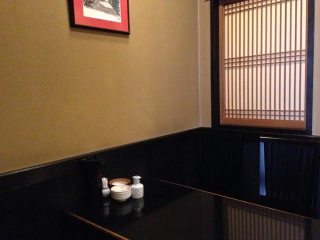神楽坂ランチ(かぐら坂新富寿司)店内