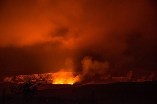 ハワイ島火山噴火