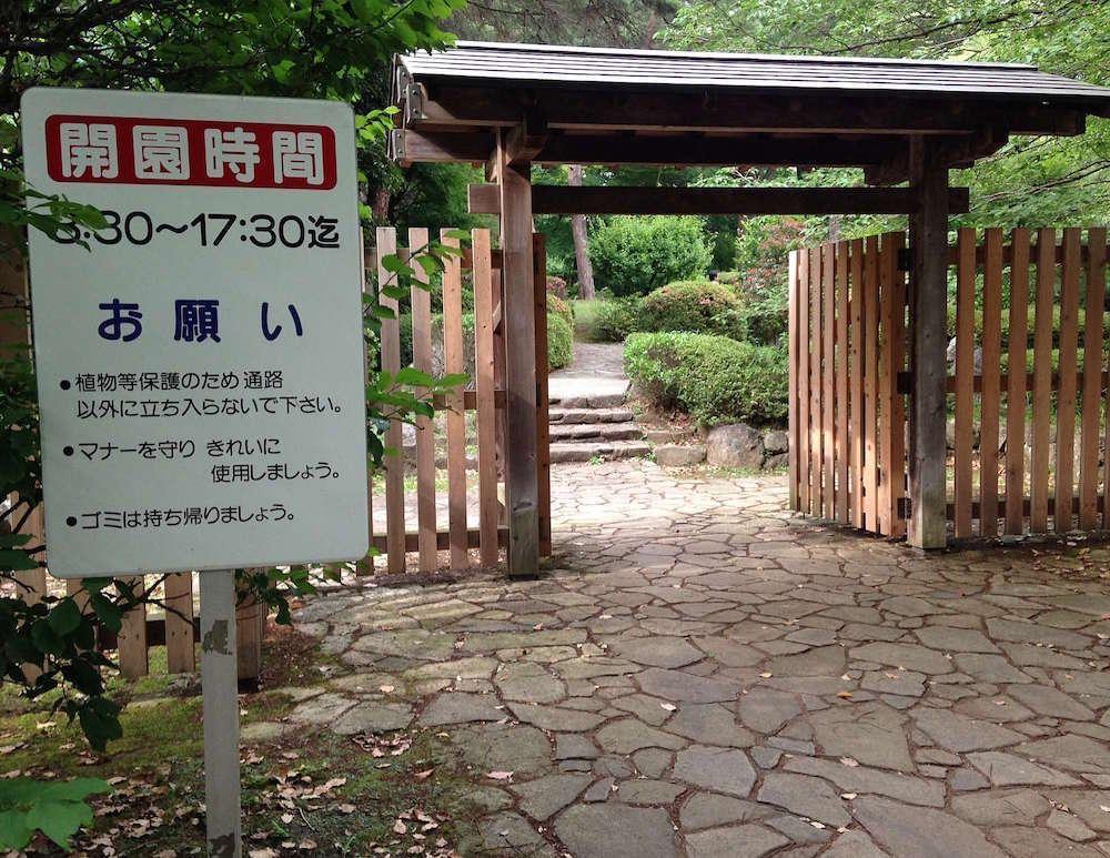 大宮公園(日本庭園)