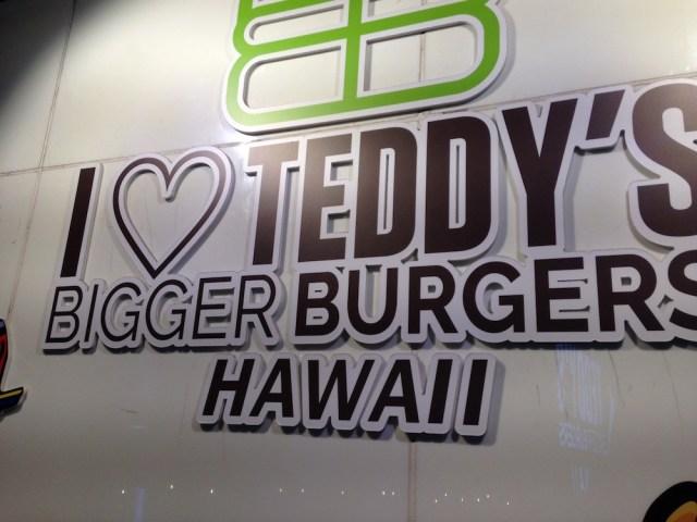 ハワイアンカフェ(原宿のハンバーガー店・看板)
