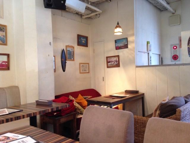 渋谷のカフェ(ホレホレカフェアンドダイナー・店内2)