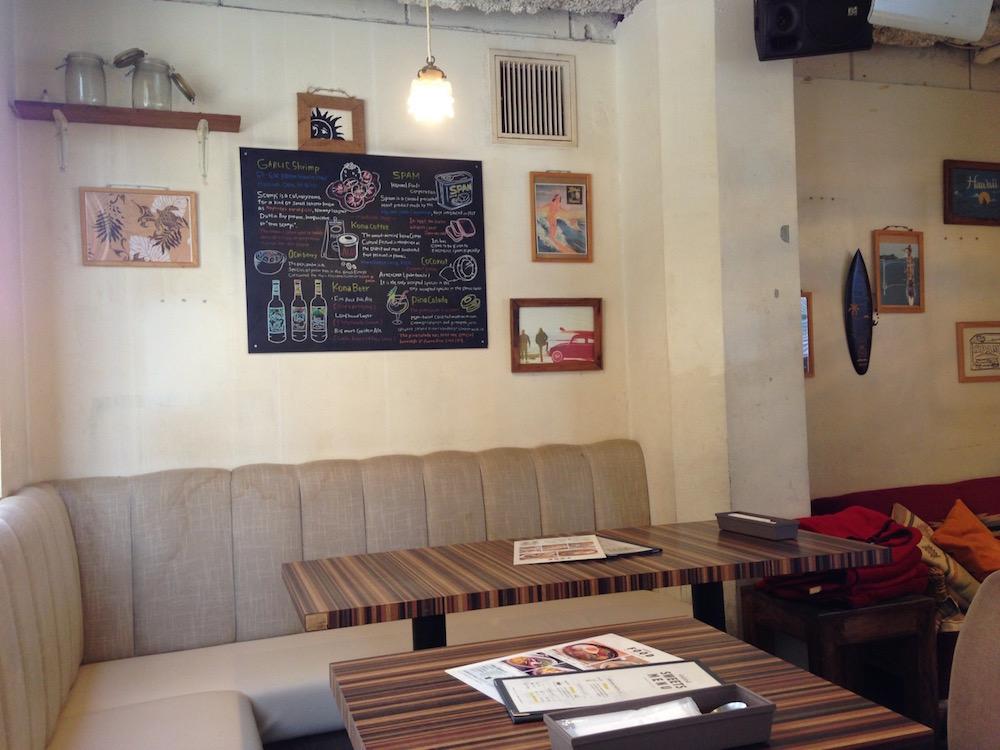 渋谷のカフェ(ホレホレカフェアンドダイナー・店内3)