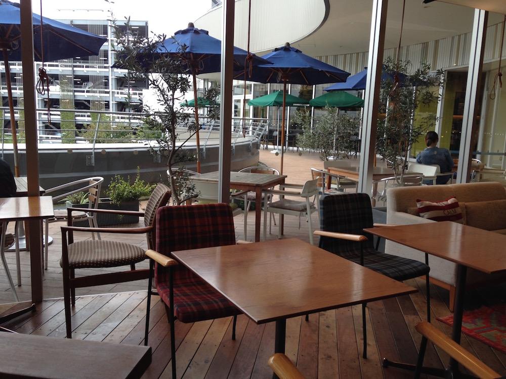 埼玉新都心のカフェ(メロウブラウンコーヒー・客席3)