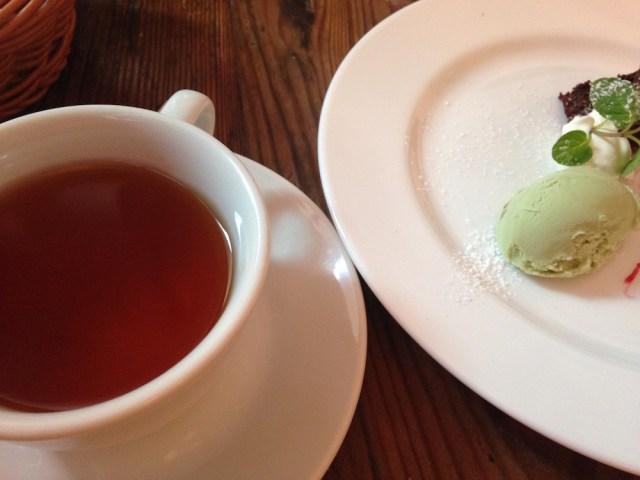 恵比寿のランチ(ヴァカンツァ・ランチの紅茶)