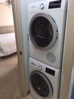Bosch製の洗濯機と乾燥機