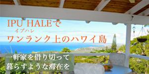 ハワイ島リトリートハウス イプハレ IPU HALE