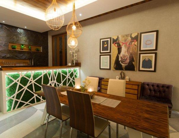Rainbow Villa Kitchen
