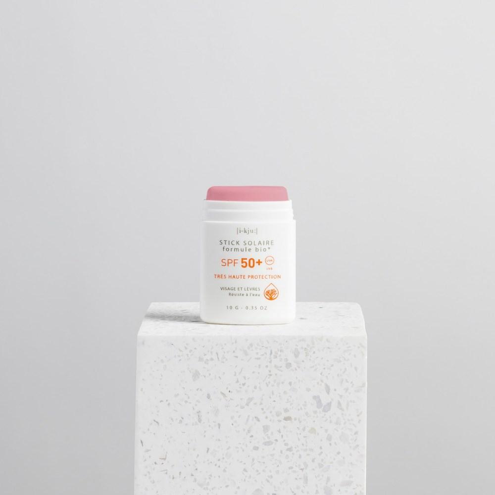 Mineralny Sun Stick Raspberry - malinowy EQ