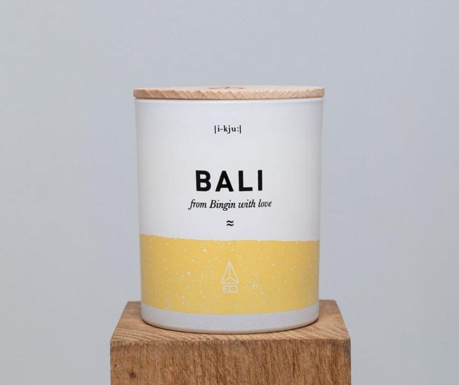 naturalne świece zapachowe eq love podroze swieca na prezent BALI