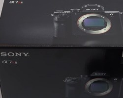 Sony A7RII Unboxing