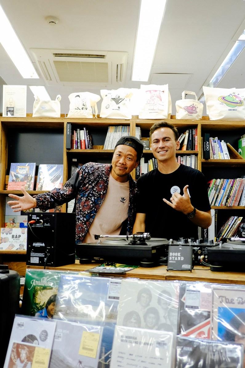 DJ Muro and Roger Bong.
