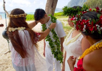 Hawaiian Style Wedding Ceremony & Reception