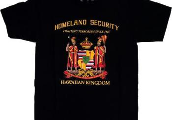 Hawaiian Kingdom T-shirts