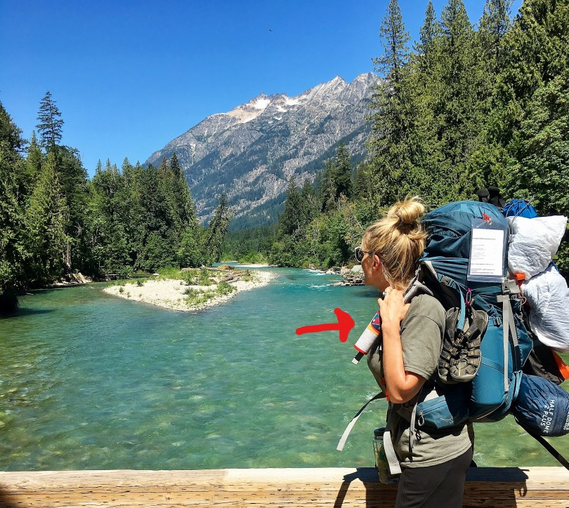 Pack bear spray for safety when backpacking