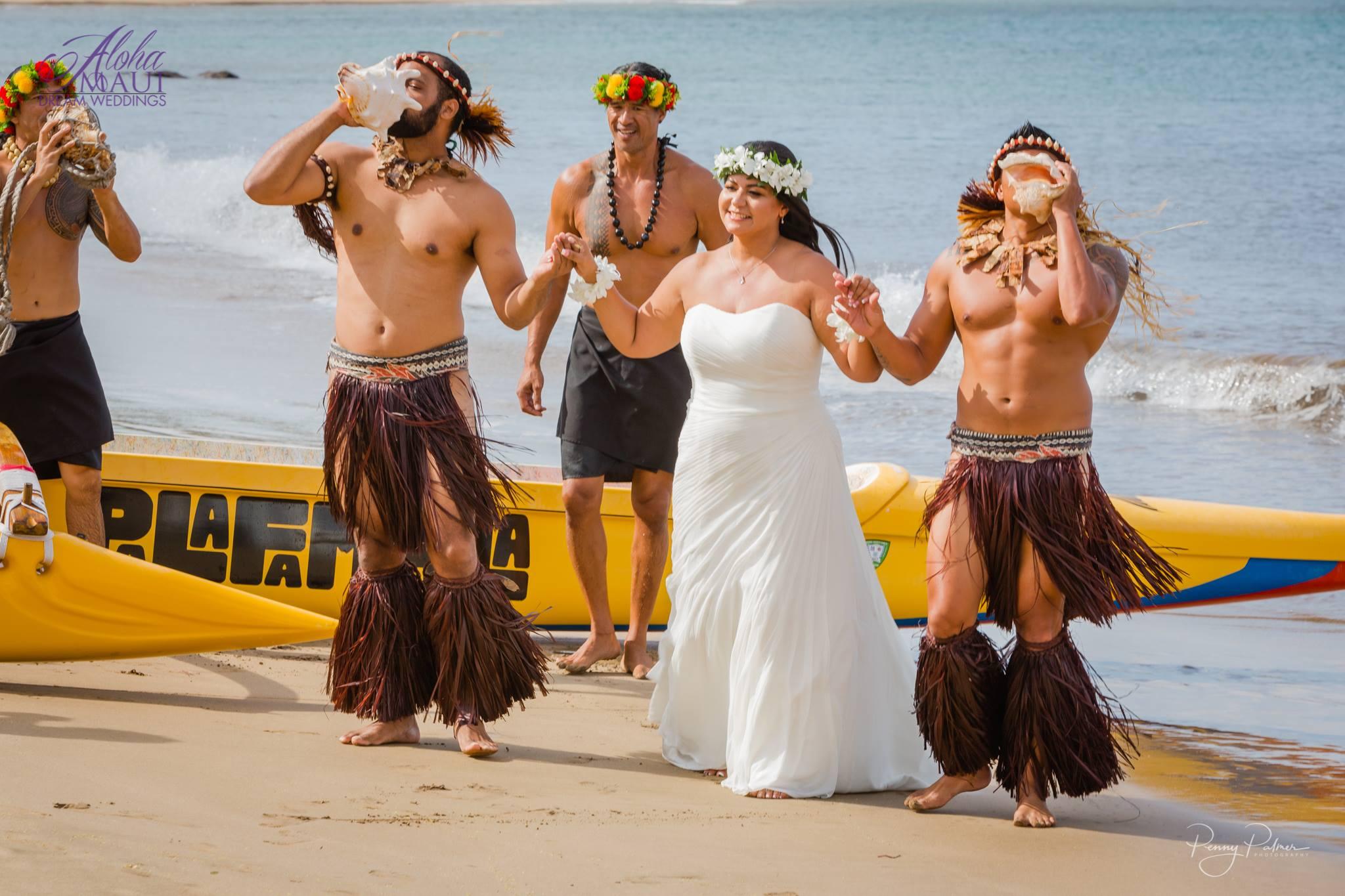 Traditional Hawaiian Wedding  Aloha Maui Dream Weddings
