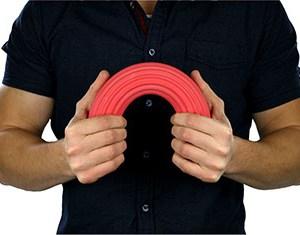 CanDo Twist-n-Bend Flexible Exercise Bar Flexbar