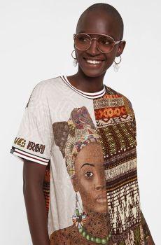 camiseta africana desigal