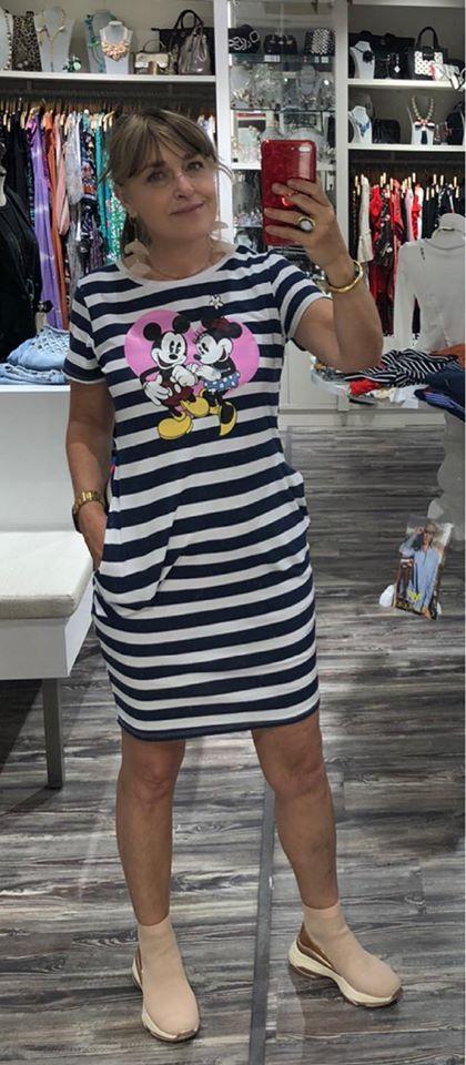 vestido rayas marinero mickey aloha