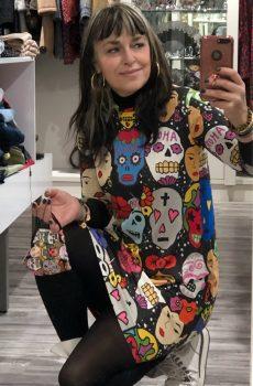 vestido viva mexico la pantera lola