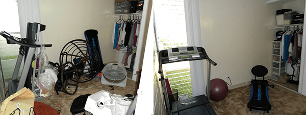 Organizing The Spare Room