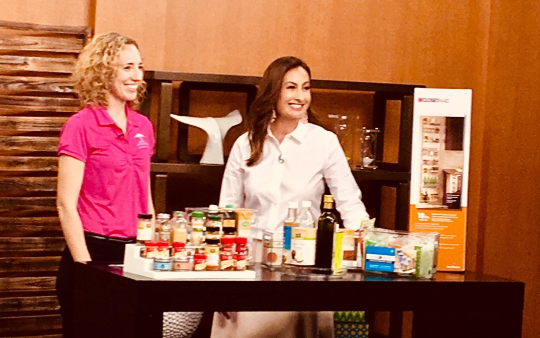 KHON Living808 Feature on Pantry Organizing