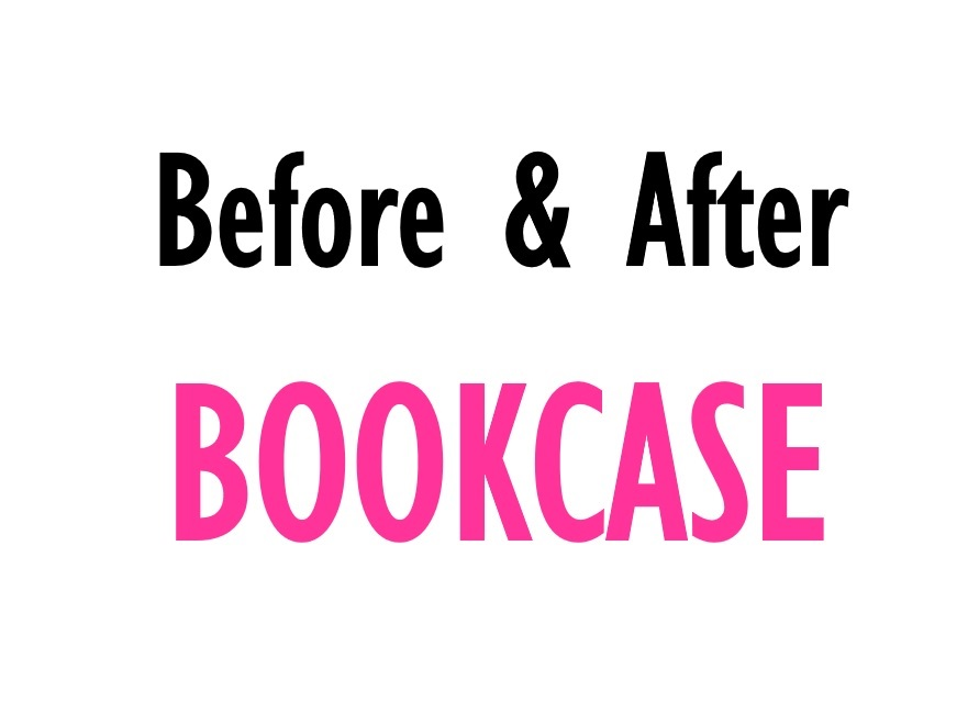 Before & After: Bookcase