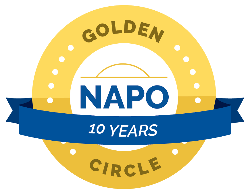 National Association of Professional Organizers- 5 Year Circle