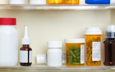 Tidy-in-Place Challenge APRIL 17: Medicine Cabinet
