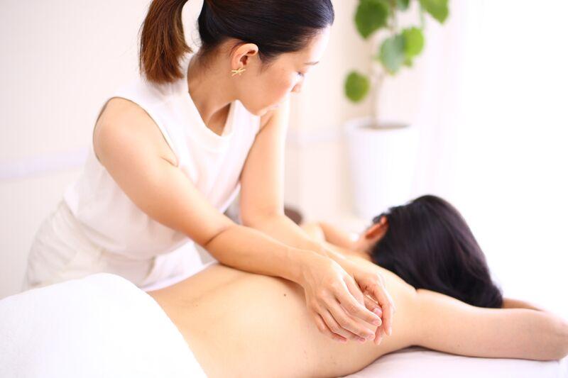 massage technic for therapist