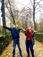 Aranjuez: Free-flying for fall