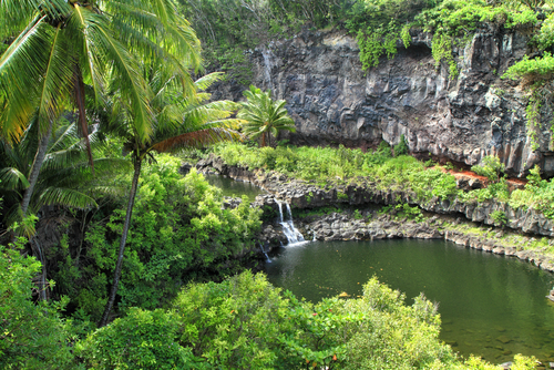 Road to Hana: Oheo Gulch. Hawaii travel. Things to do in Maui. Things to do in Hawaii.